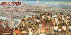 El mercado de Tlatelolco según Diego Rivera