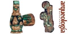 Objetos de madera localizados en el Templo Mayor de Tenochtitlan