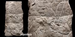 El Bajorrelieve de Xoc, en el Museo Nacional de Antropología