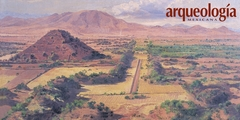 La Calle de los Muertos, Teotihuacan, Estado de México
