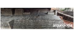 Templo Mayor de Tenochtitlan. Lado de Huitzilopochtli