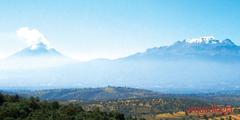 Popocatépetl. La erupción actual no será de fuego