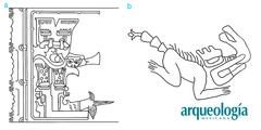 """El símbolo olmeca de """"vegetación de tres puntas"""" y la fauna sobrenatural"""