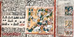 Tezcatlipoca en el Códice de Dresde, un códice maya