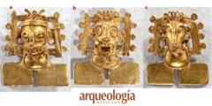 El tesoro de Monte Albán. Oro. Pequeños pectorales