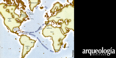 Viajes transatlánticos antes de Colón