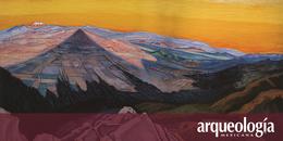 Los volcanes en el arte. El Popocatépetl y el Iztaccíhuatl