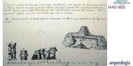 El Cerrito. Primeras exploraciones