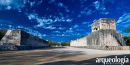 El juego de pelota de Chichén Itzá, Yucatán