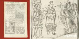 Cortés aprisiona a Moctezuma