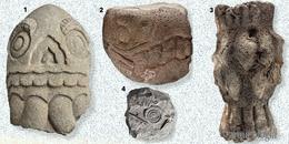 Sepulcro ritual de esculturas