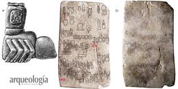 El bloque labrado con inscripciones olmecas. El Cascajal, Jaltipan, Veracruz