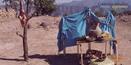 Carne de chivo en el ritual rarámuri