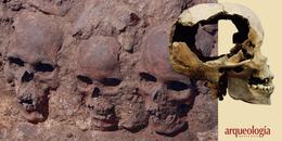"""""""Las torres de cráneos"""" y el tzompantli"""
