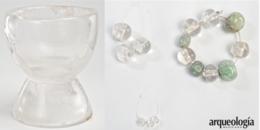 El tesoro de Monte Albán. Cristal de roca