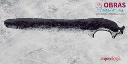 29. Cuchillo de obsidiana. Occidente de México
