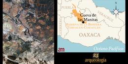 La cueva de las manitas. Cuicatlán, Oaxaca