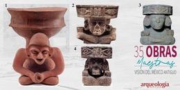12. Dios Viejo del Fuego. Cuicuilco, Ciudad de México