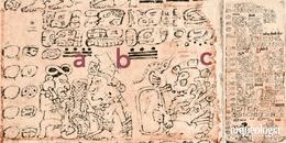 Página 2 (Escriba 1). Códice de Dresde