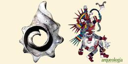 Un símbolo de Ehécatl-Quetzalcóatl