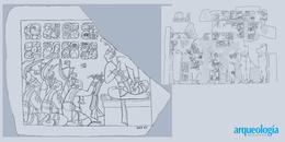 La entronización de los reyes mayas