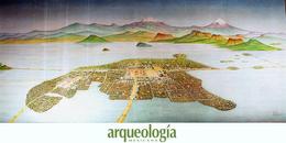 Tenochtitlan en el gran lago