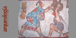 Pintura mural, Calakmul, Campeche