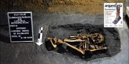 La tumba del canónigo Miguel de Palomares. Miembro del primer Cabildo eclesiástico de México