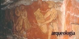 El mural de los bebedores de Cholula, Puebla