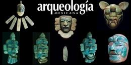 Cabezas ceremoniales de mosaicos de jadeíta de Tak'alik Ab'aj, Guatemala