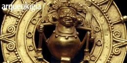"Pectoral ""joya de oro"", Oaxaca."