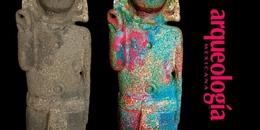 Restitución cromática en esculturas del Templo Mayor de Tenochtitlan