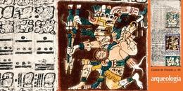 El señor nahua del año en un códice maya