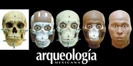 Reconstrucción facial escultórica de cráneos prehispánicos
