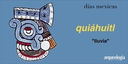 quiáhuitl (lluvia)