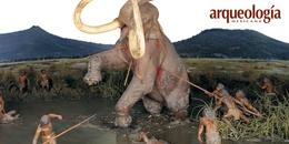 """""""La cacería del mamut"""" en el Museo Nacional de Antropología"""