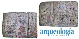 Restos de un códice mántico. San Bartolo Yautepec, Oaxaca