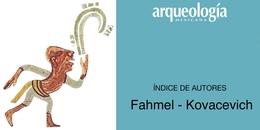Índice de autores F - K