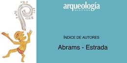 Índice de autores A - E