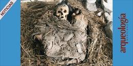 Bulto mortuorio en Zimapán, Hidalgo