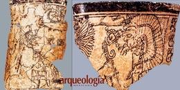 Vasijas estilo códice de Calakmul