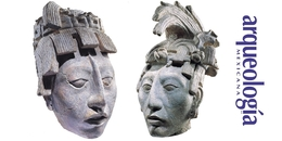 Dos cabezas retrato de Pakal