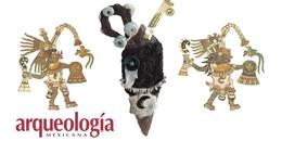 """""""Cuchillos rostros"""" en las ofrendas para Ehécatl-Quetzalcóatl y Xólotl"""