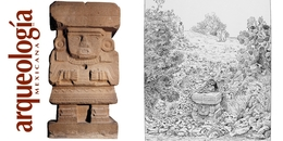 Escultura de la diosa del agua, Teotihuacan, Estado de México