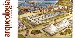 La producción y el comercio de la sal entre los mayas