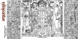 Tablero de la Cruz, Templo de la Cruz, Palenque, Chiapas