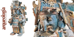 Portaincensario de Chaac, Mayapán, Yucatán