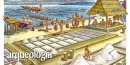 Intercambio de mercado en el área maya