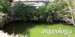 Los huesos del Cenote Sagrado de Chichén Itzá, Yucatán