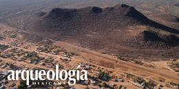 Cerro de Trincheras, Sonora. Muros de piedra que acogen la espiral del mar